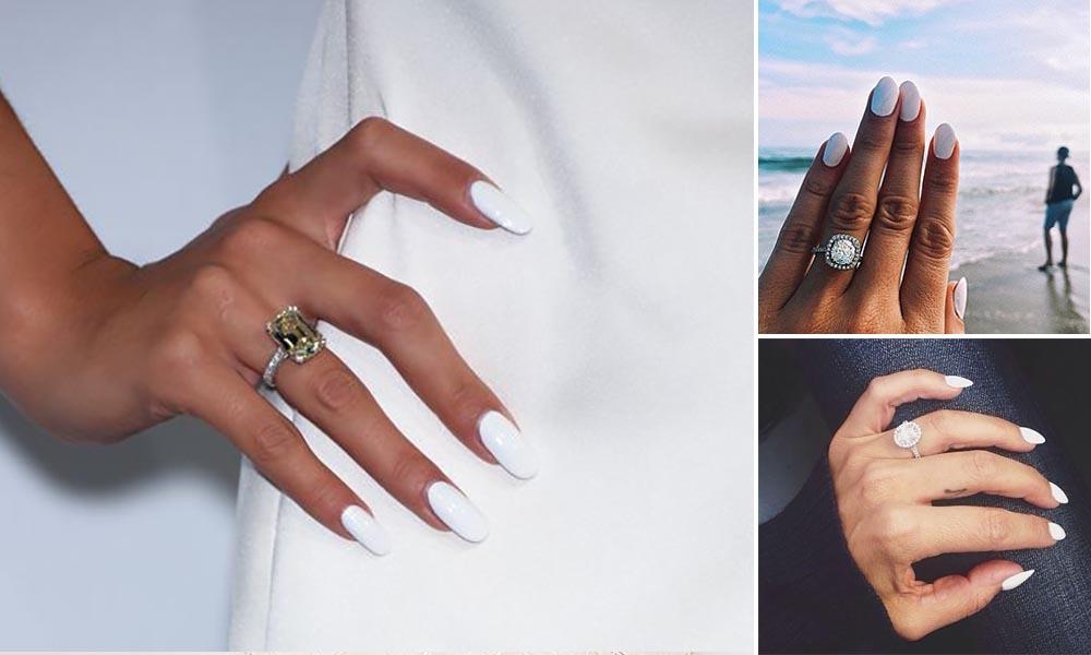 White.manicure