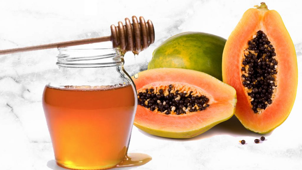 Papaya Honey Mask