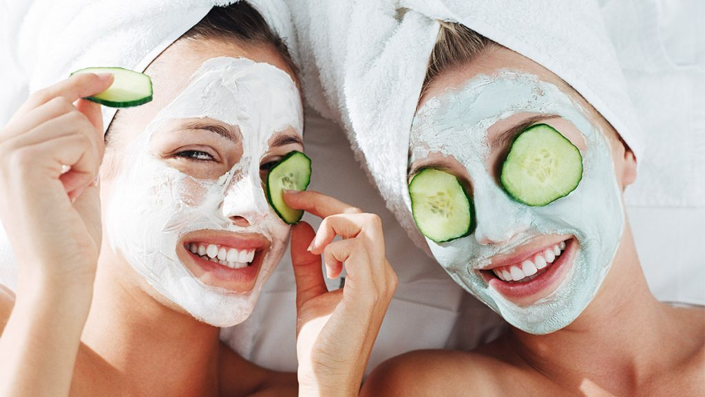 Mother Daughter Facial